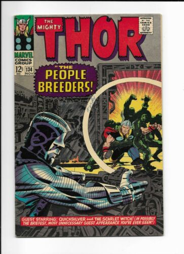 The Mighty THOR  #134 KEY 1st App HIGH EVOLUTIONARY Marvel Silver Age GOTG 3