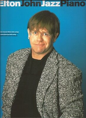 Elton John Jazz Piano UK Wise Publications PVG Songbook