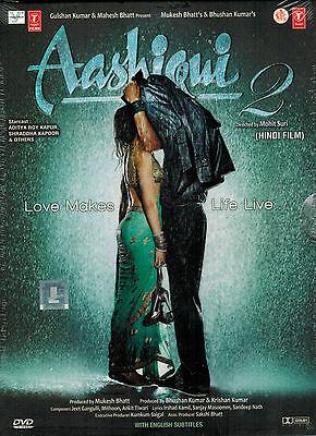 AASHIQUI 2 - BOLLYWOOD ORIGINAL DVD - FREE POST