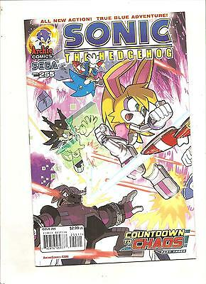 Archie Comics  Sonic The Hedgehog #255 A  Variant Edition
