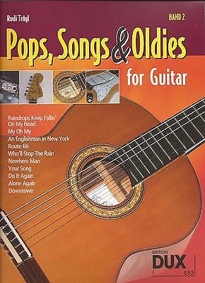 Gitarre Noten -  POPS, SONGS & OLDIES for GUITAR - Band 2