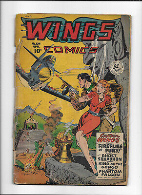 WINGS COMICS #104 [1949 PR]
