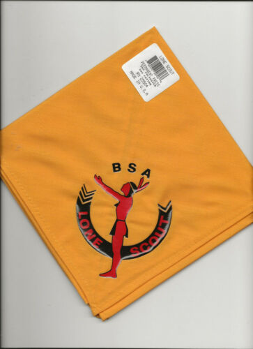 LONE  SCOUT / NECKERCHIEF - Unused / New Old Stock - Boy Scout BSA A121/3-4