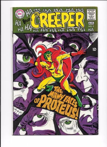 Beware The Creeper #2 August 1968 Steve Ditko art