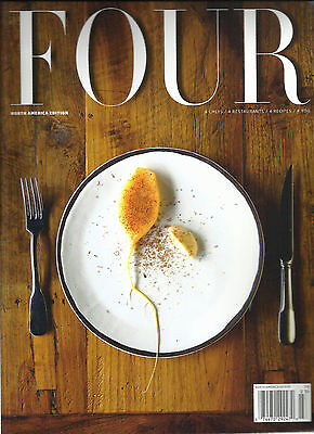 FOUR NORTH AMERICA EDITION THE WORLD'S BEST FOOD MAGAZINE  MARCH 2015. (Four The Best Food Magazine)