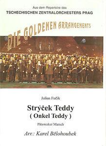 Blasmusiknoten Onkel Teddy / Pitoresker Marsch - <span itemprop=availableAtOrFrom>Bad Ischl, Österreich</span> - Blasmusiknoten Onkel Teddy / Pitoresker Marsch - Bad Ischl, Österreich
