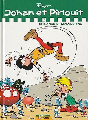 BD   Johan et Pirlouit - N°3 -  Intégrale  - E.O. 2009 TTBE - Peyo