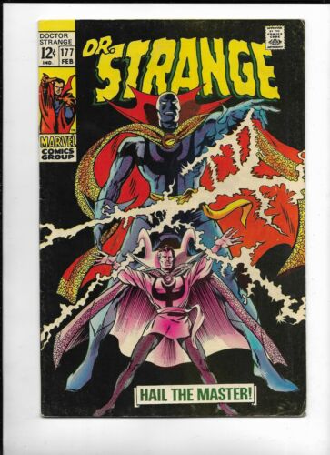 Doctor Strange #177,1968, VF, 8.5, Stan Lee, vs The Sons of Stannish