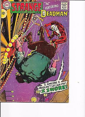 DC Comics Strange Adventures Featuring Deadman Issue No 209 VG+?