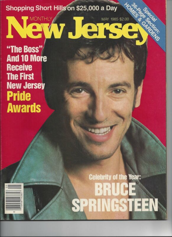 Springsteen NJ Monthly Magazine 5/85 Time Newsweek
