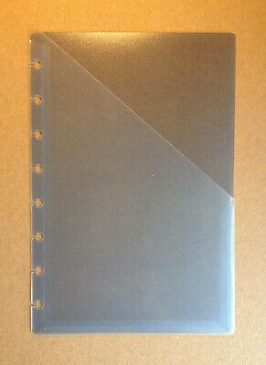 Levenger Circa Discbound Blue Junior Size Pocket Divider