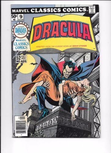 Marvel Classics Comics #9 Dracula Illustrated 1976