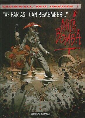 Anita Bomba Vol. 1-4 by Didier Cromwell & Eric Gratien (4 Hardbacks, 2007)