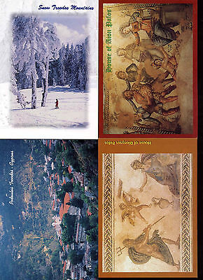 Cyprus 2001, 11 Postage Paid Stationery PostCards Unused Cancelled AKYPO#C18294