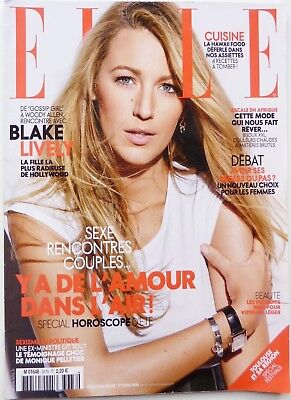 "French ELLE 2016: BLAKE LIVELY_FASHION spread ""African Dream""_LEA SEYDOUX"