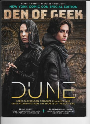 NYCC New York Comic Con 2021 Special Edition Official Program Dune - Free Ship!