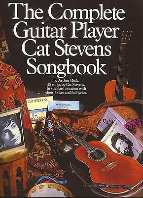 Gitarre Noten - THE COMPLETE GUITAR PLAYER  - CAT STEVENS - SONGBOOK - 28 SONGS