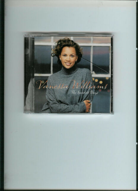 VANESSA WILLIAMS THE SWEETEST DAY CD POP MUSIC