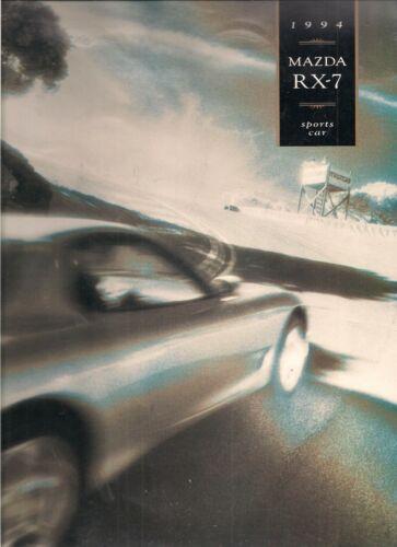 1994 Mazda RX7 Sales Brochure