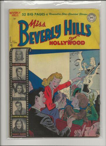 Miss Beverly Hills VG- 3.5 Ronald Reagan Story Janie GGA HTF 1950