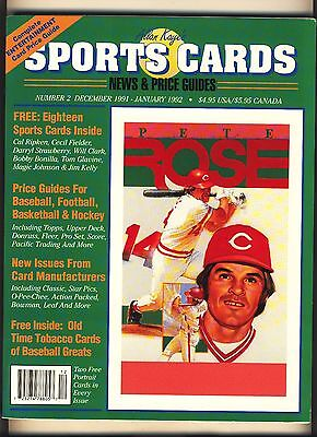 Allan Kayes Sports Cards News And Price Guide  2 December 1991 January 1992