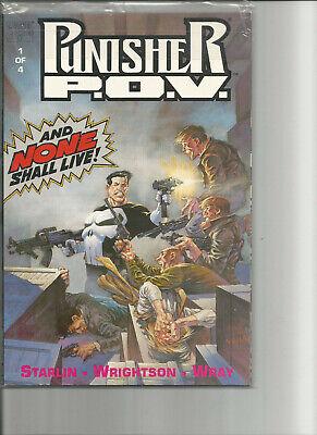 Punisher P.O.V 1-4 Marvel Bookshelf 1991 wie neu!! (Wie O P)