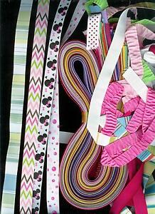 Huge lot  50 yds  5/8 inch grosgrain ribbon solid, dots prints 1 yd 50 different