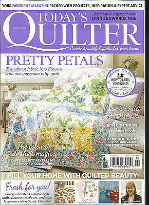 TODAY'S QUILTER MAGAZINE, CREATE BEAUTIFUL QUILTS FOR YOUR HOME.  ISSUE, 2017  (Today's Take)