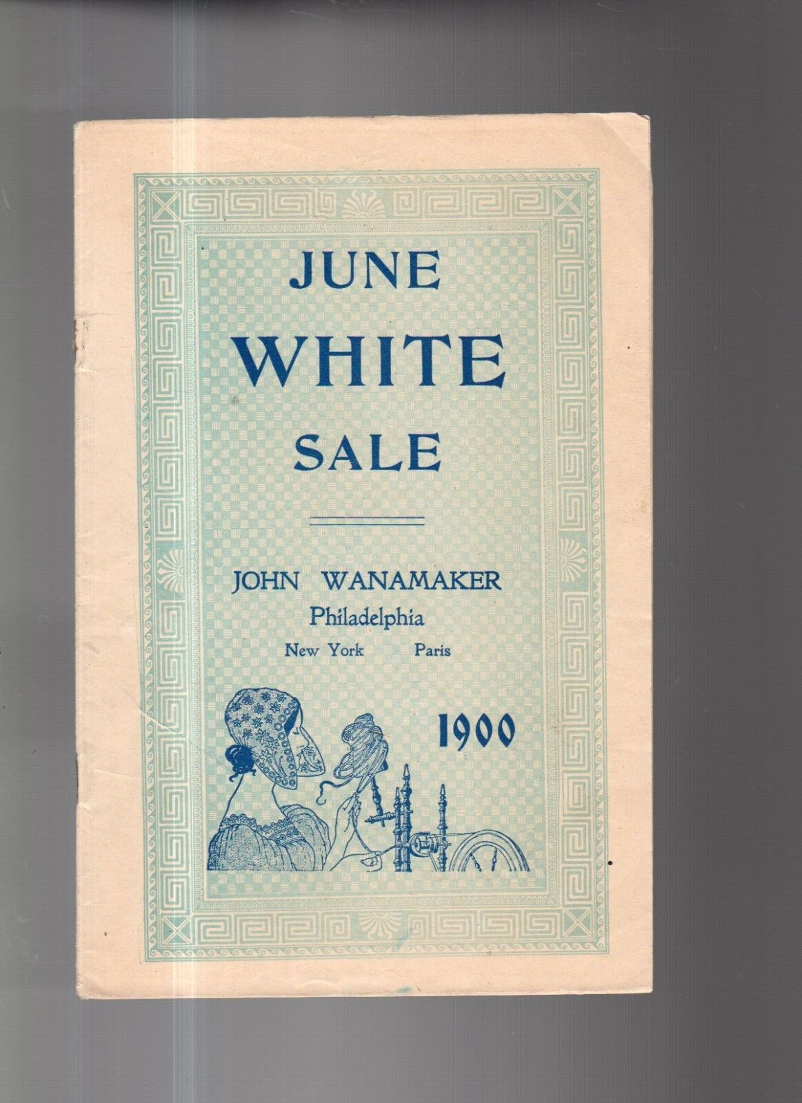 1900 Wanamaker Weiß Angebot Katalog - Herren Shirts, Schlafanzug; Golf Röcke,