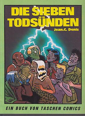 Sieben Todsünden - Jean C. Denis - Taschen 1984 - Top