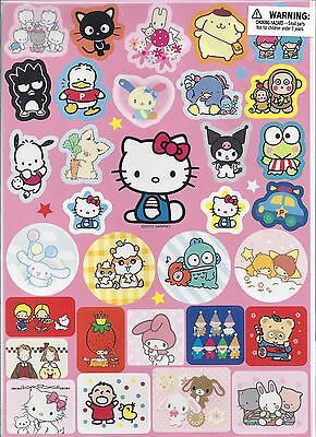 Sanrio Hello Kitty Stickers Kitty and Friends