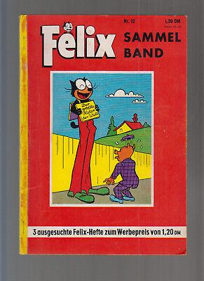 Felix Sammelband Nr 12 (1-) mit Hefte (0-1/1)160,161,162) Alle mit Bessy.