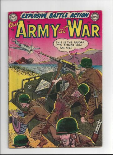 Our Army at War #3 DC Comics 1952 VG complete Rare Book!
