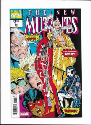Marvel Facsimile NEW MUTANTS #98! 1st appearance of DEADPOOL! DOMINO! 2019