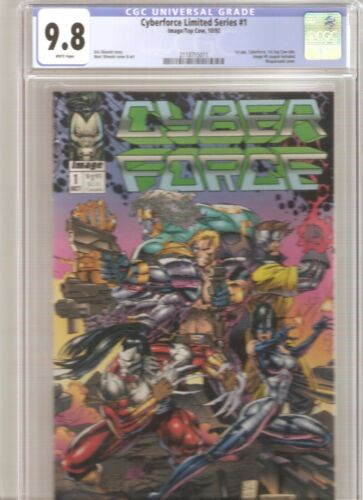 Cyberforce #1 CGC 9.8 1992 Image/Top Cow