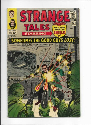 STRANGE TALES #138 ==> FN 1ST ETERNITY MARVEL COMICS 1963