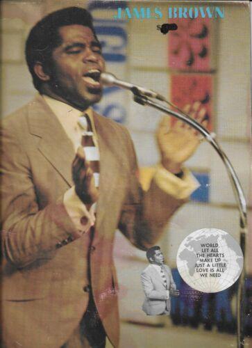 JAMES BROWN - 1969 - 24 page Tour Program
