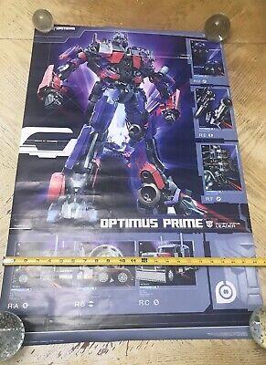 2007 TRANSFORMERS OPTIMUS PRIME POSTER 22x34 Transformers Prime-poster