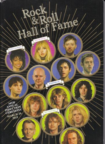 Rock and Roll Hall of Fame-2019 Program-34th Annual Induction Ceremony