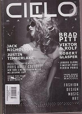 CIELO Australian Magazine Issue #3, Brad Pitt, Viktor & Rolf, Robert Glaper.