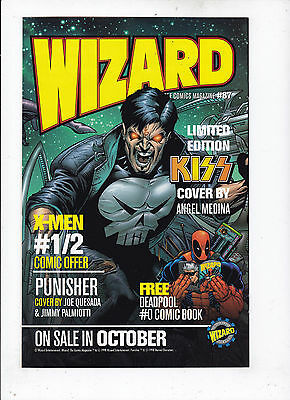 Wizard Special Edition-Kiss vf/nm