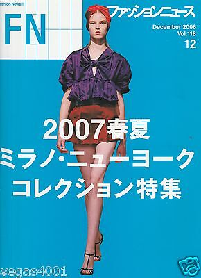 ***FN (Fashion News) DECEMBER 2006 -2007 COLLECTIONS