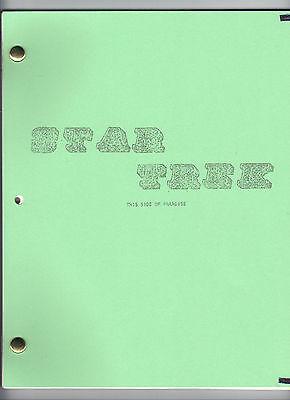 STAR TREK  show script