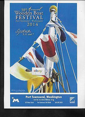 PORT TOWNSEND WASHINGTON 38TH WOODEN BOAT FESTIVAL LUKE TOMATZBIG 9/2014 AD