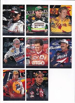 1997 Score Board Iq  10 Phone Card  1 Dale Earnhardt Bv 8    Unscratched