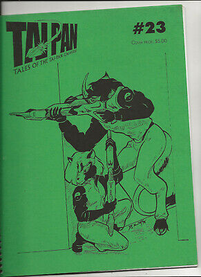 Tales of the Tai-Pan Universe 23, 37, 46 (anthropomorphic SF fanzine)