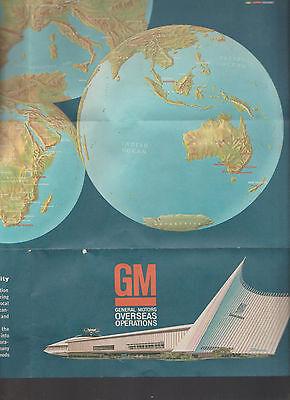 GM Motors Overseas Operations 1960s Brochure Holden Vauxhall Opel