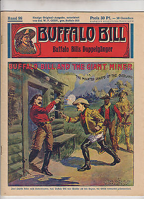 Buffalo Bill 1930 Originalheft Nr. 92 im Zustand (1/1-) Top Zustand Kühn Verlag