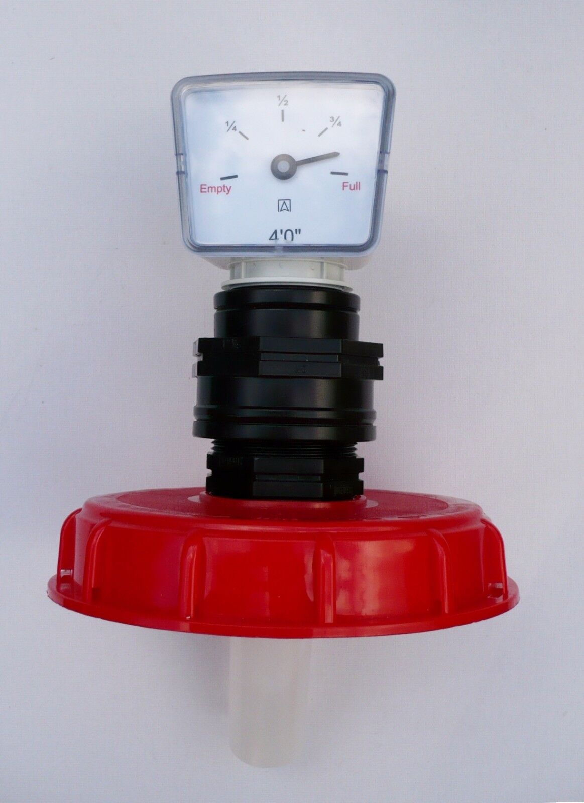 """with 1//2/"""" Snap-On Hose Inlet 6/"""" Coarse Thread IBC Storage Tank Topfill Cap"""