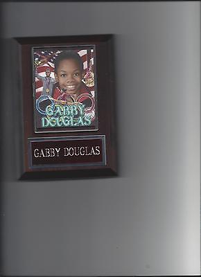 Gabby Douglas Plaque Olympic Gymnastics Gold Medal Usa